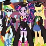 Equestria Girls Graduation Party