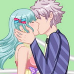 Lover Kissing Dress Up
